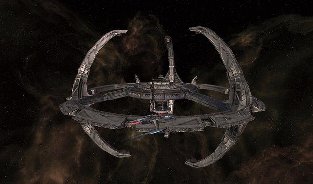 Das Liebhaberherz strahlt, wenn ihr in Star Trek Online das erste Mal die Raumstation Deep Space 9 anfliegt.