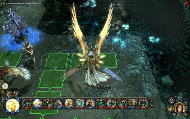 Der Himmlische ist eine starte Kreatur in Might & Magic - Heroes 6.