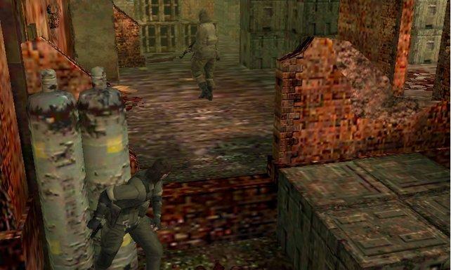 Auf dem kleinen 3DS-Schirm sind entfernte Gegner schwerer auszumachen.