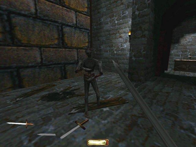 Grafisch hat der Zahn der Zeit stark an Dark Project genagt - der Spielspaß ist aber nach wie vor gewaltig.