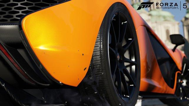 An den Details der einzelnen Wagen kann man sich schwer sattsehen.