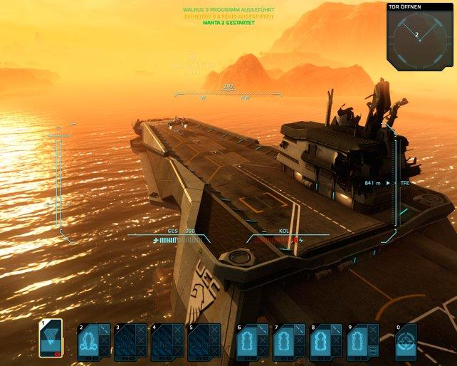 Land in Sicht! 33 Inseln warten auf ihre Eroberung durch eure Einheiten.