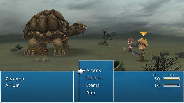 Final Fantasy VII lässt grüßen!