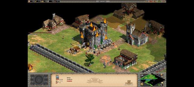 Die Verteidigung einer Burg ist nicht leicht zu knacken.