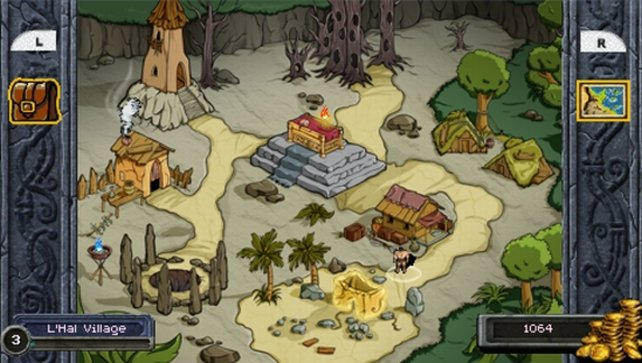 Die Schauplätze erinnern ein wenig an Asterix-Comics...