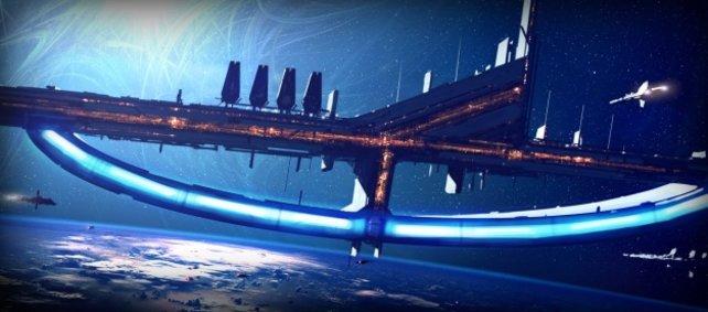 Der Weltraum, unendliche weiten: Planeten und Stationen warten auf euch.