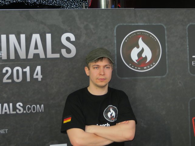Sieesch, der Organisator und AMX-13-90-Experte von Team WUSA.