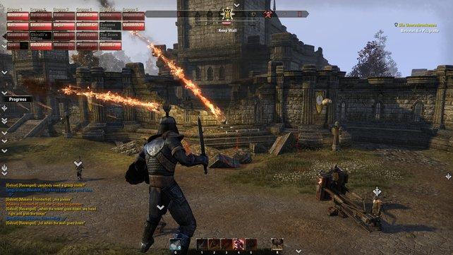 Die Mehrspieler-Kämpfe fordern taktisches Geschick.