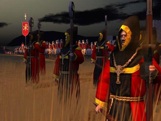 Die Mönche, die die Truppen bei Laune halten, sind besonders wichtig