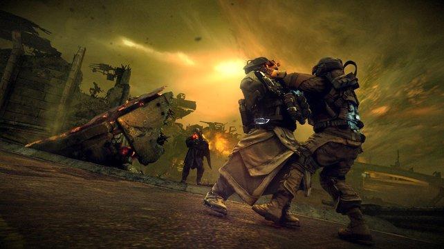 In Killzone 3 macht die Kriegs-Atmosphäre selbst im Mehrspieler-Modus viel aus.