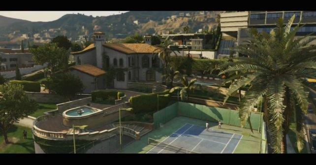 Tennisspielen gehört zu den Freizeitaktivitäten in GTA 5.