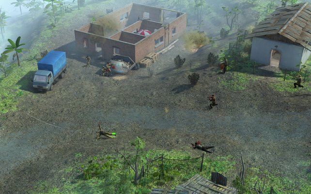 Jagged Alliance - Back in Action: nette Ideen, die die Serie reaktivieren.