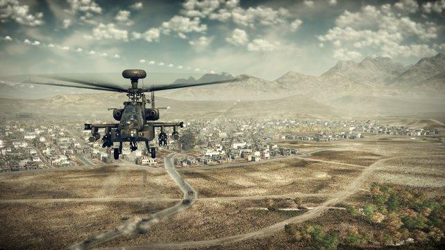 Der Apache gehört zu den leistungsfähigsten Kampfhubschraubern der Welt.