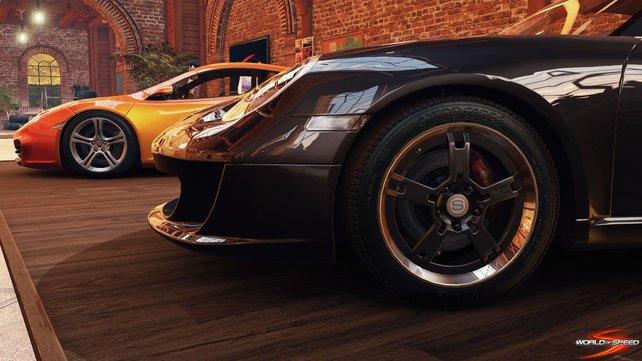World of Speed sieht bereits in der Alpha-Phase gut aus.