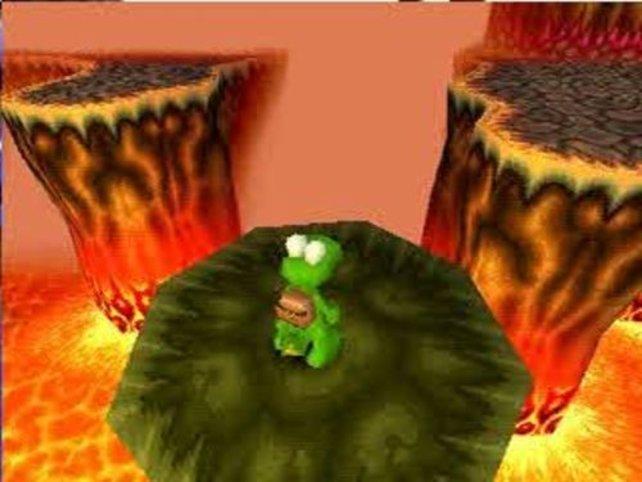 Die Spielfigur Croc.