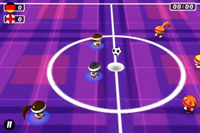 Knallbunt und wuselig, aber gut: Chop Chop Soccer.