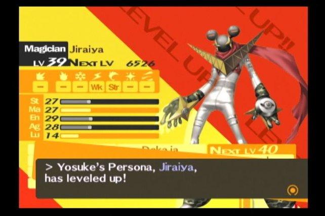 Beim Levelaufstieg seht ihr auch die verschiedenen Attribute der Personas.