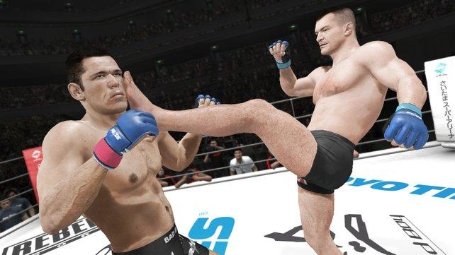 Ins Gesicht! Ins Gesicht! Das scheint die heimliche Parole von UFC Undisputed 3 zu sein.