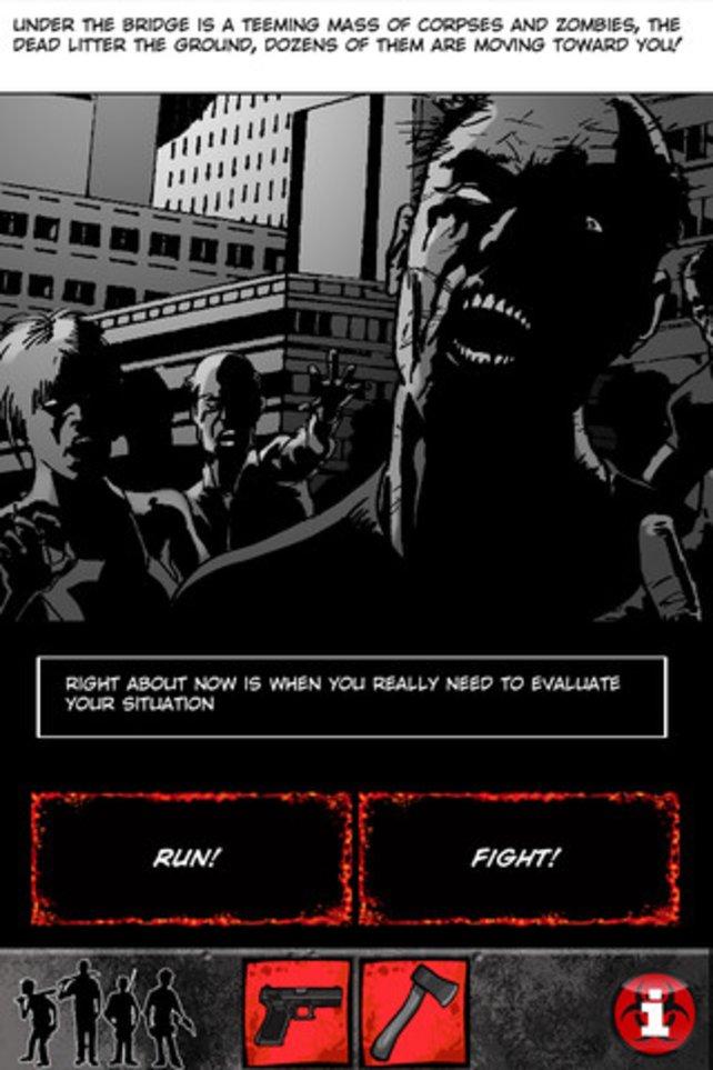 Dieser interaktive Comic stellt euch ständig vor die Frage: Kampf oder Flucht?