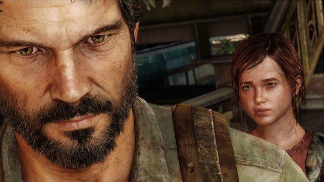 Ein ungleiches Gespann: Der unerschütterliche Joel (links) und die unbeschwerte Ellie.