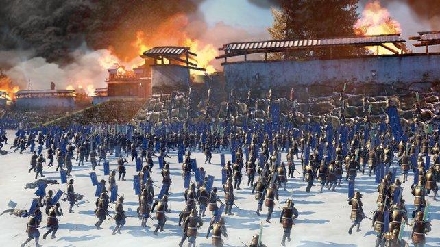 Shogun 2 steht für gewaltige Massenschalchten im feudalen Japan.