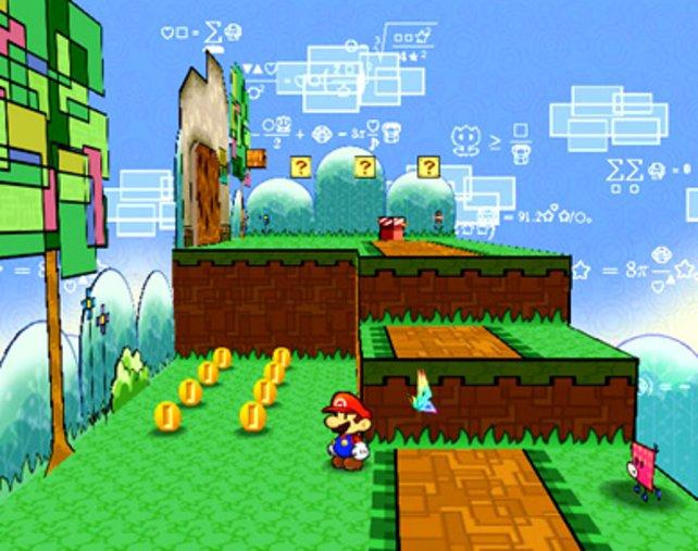 Super Paper Mario erschien 2007 ganz kurz vor Crush (PSP). So ein Zufall aber auch!