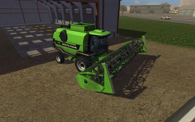 Vor allem die Maschinen im Landwirtschafts Simulator punkten mit Detailreichtum.
