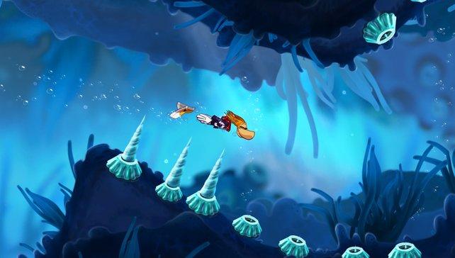 Knuddelgrafik und spielerischer Tiefgang lassen Rayman - Origins auch auf PS Vita glänzen.