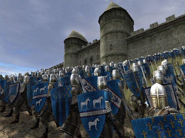 Verteidigt die Burg.