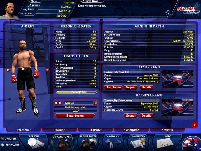 Boxerübersicht