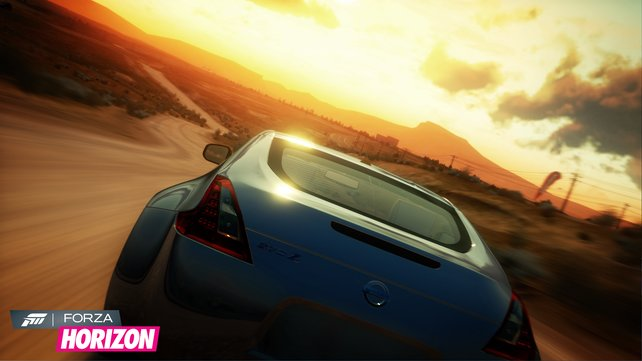 Die schicken Automodelle stammen aus Forza Motorsport 4.