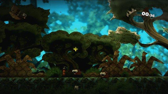 Im Editor von Little Big Planet 2 könnt ihr die Welten nach euren eigenen Wünschen formen.