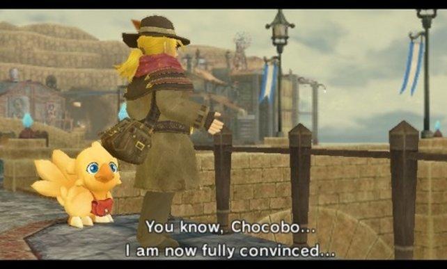 Auf der Suche nach der Wahrheit: Cid und Chocobo
