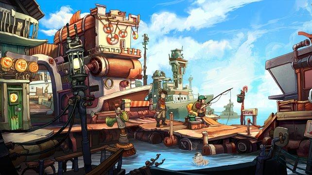 Den Hafen des Schwarzmarktes bekommt ihr als Erstes zu sehen.