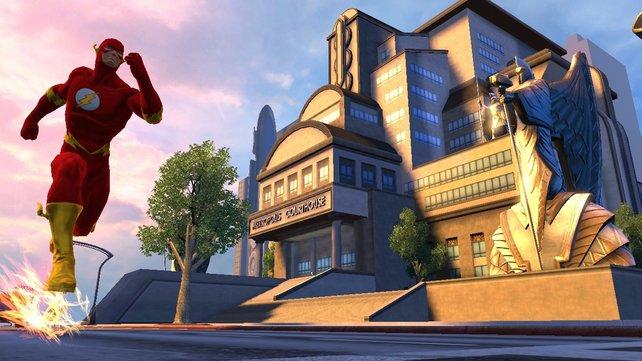 Die Stadt Metropolis ist Schauplatz des Online-Spiels.