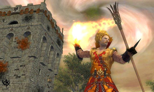 """Natürlich spielt auch Magie in """"Warhammer Online"""" eine große Rolle"""