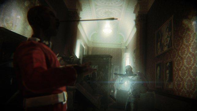 Wie in The Walking Dead: Mit der Armbrust auf Zombie-Jagd.