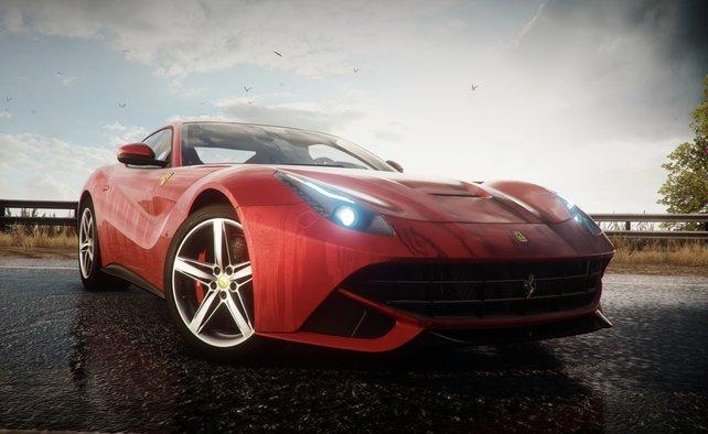 Die Marke Ferrari darf natürlich nicht fehlen, wenn es um Supersportwagen geht.