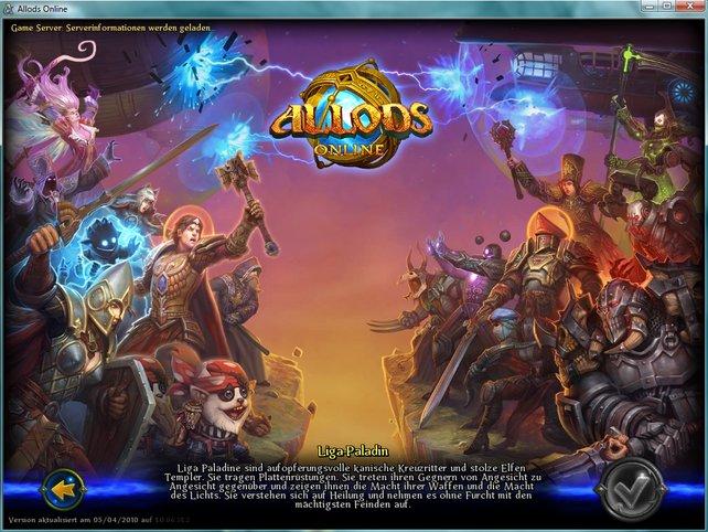 Orks, Magier oder Paladine - bei Allods Online ist für jeden was dabei!