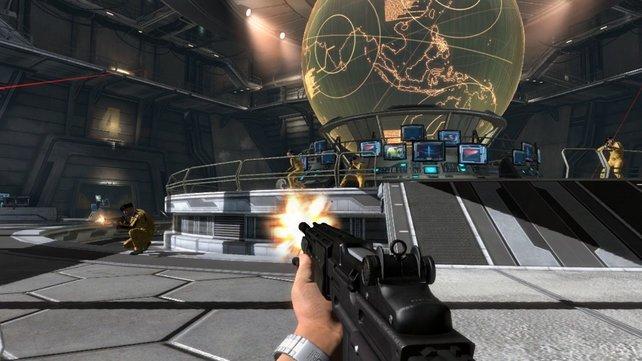 Die Klonkrieger kommen! Dabei hat James Bond gar kein Laserschwert dabei.