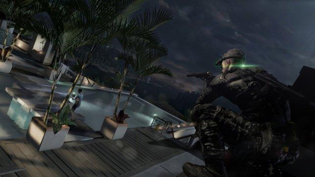 In Splinter Cell - Blacklist ist wieder sparsames und kluges Vorgehen angesagt. Denn die Pistole verfügt nicht mehr über unendlich viel Munition.