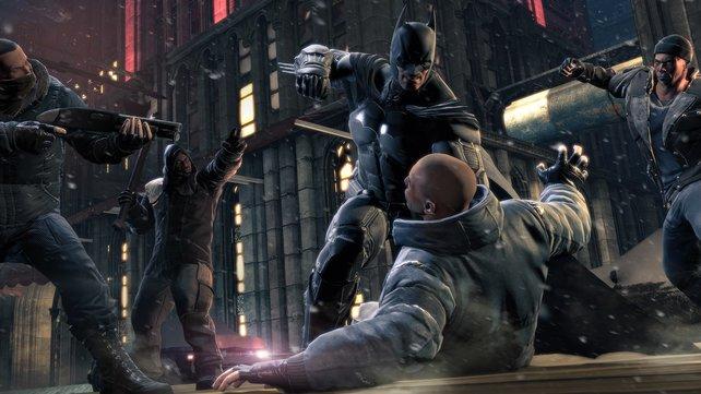 Bruce Wayne ist wütend.