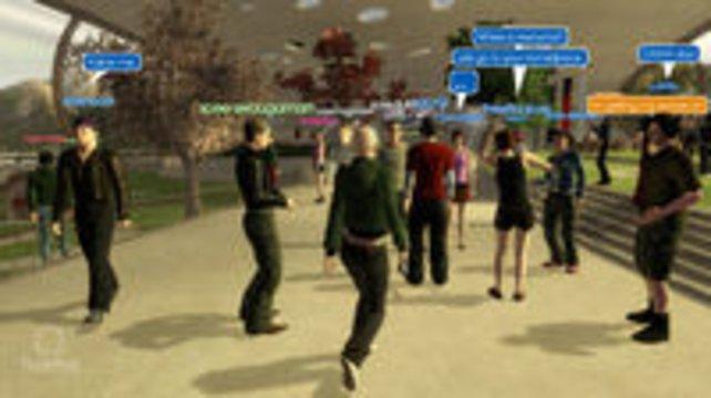 Treffen mit Freunden im Sony-Netzwerk - damals Fehlanzeige.