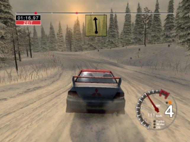 Die Schwedenrally bietet beeindruckende Schneelandschaften