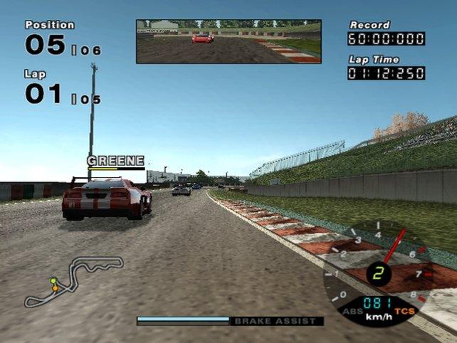Wer würde hier ein Ridge Racer vermuten?