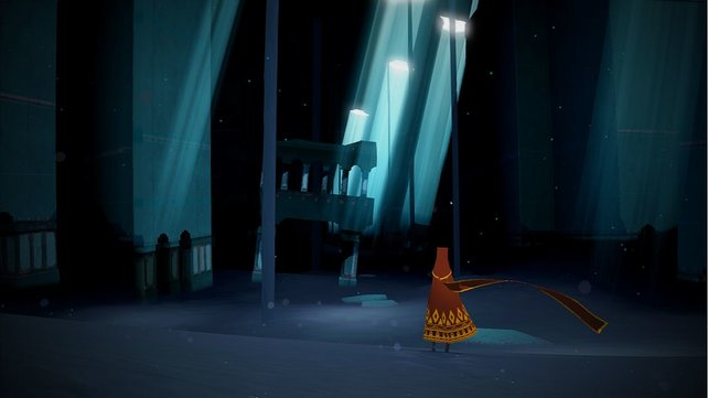 Dunkle Tempel erforscht ihr Journey.