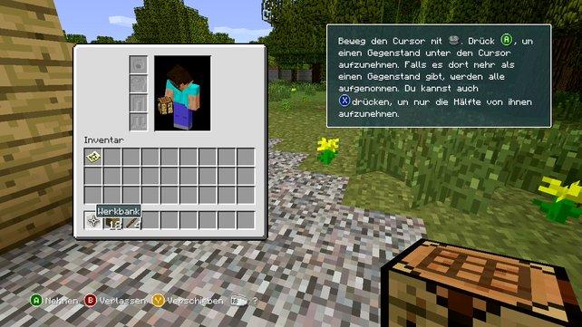 Das Spiel erklärt euch seine Funktionen.