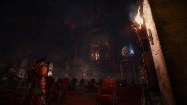 Die Welt von Lords of Shadow 2 lädt zu ausgedehnten Erkundungszügen ein.