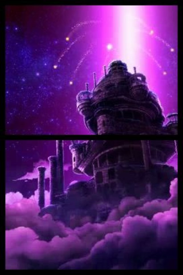 Das Observatorium, die himmlische Heimat des Helden.