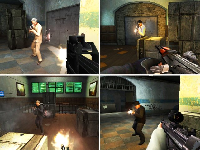 Mehrfacher Spielspaß am geteilten Bildschirm oder online.